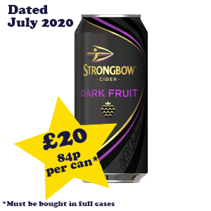 Strongbow Dark Fruits 4.0% 24x440ml OutOfDate