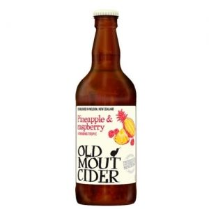 Old Mout Raspberry & Pineapple 4.0% 12x500ml