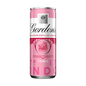 Gordons Pink Gin & Schweppes Tonic 5.0% 12x250ml