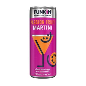 Funkin Passion Fruit Martini 5.0% 12x200ml