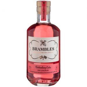 Brambles Battenburg Cake Gin Liqueur 50cl