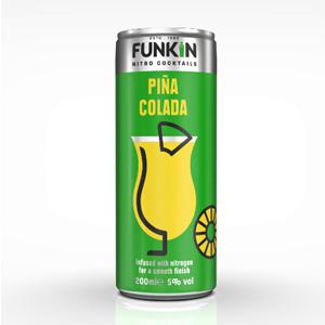 Funkin Pina Colada 5.0% 12x200ml