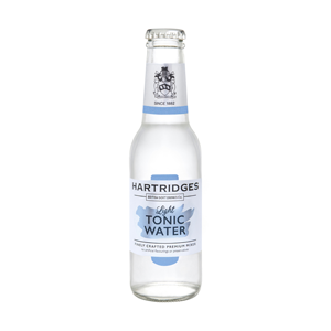 Hartridges Light Tonic Water 0.0% 24x200ml