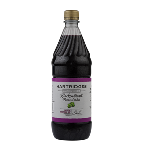 Hartridges Blackcurrant Cordial 0.0% 6x1l